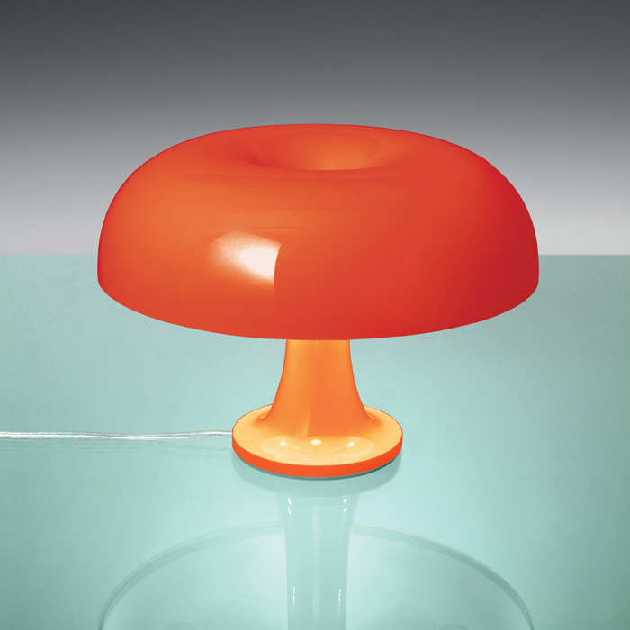 Artemide Nessino Table Lamp Orange