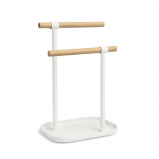 Umbra Vana Double Hand Towel Tree White