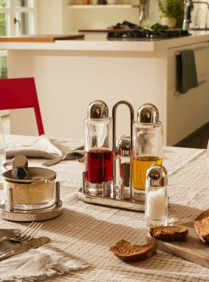 Alessi Condiment 5070 by Ettore Sottsass
