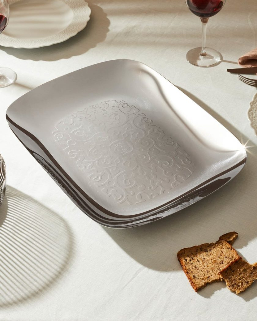 Alessi Dressed Square Tray by Marcel Wanders