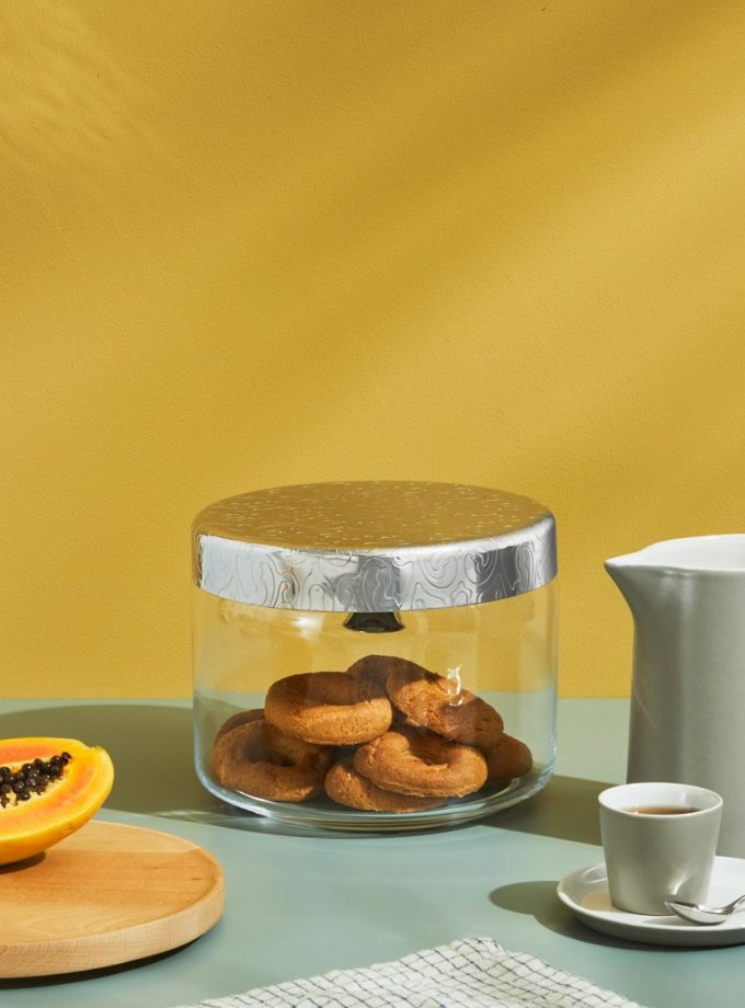 Alessi Dressed Biscuit Box w Bell