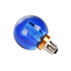 Seletti - Crystaled Lightbulb - Blue Round