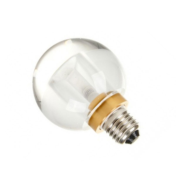 Seletti Crystaled Light Bulb Clear Round