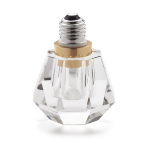 Seletti - Crystaled Lightbulb - Clear Spot
