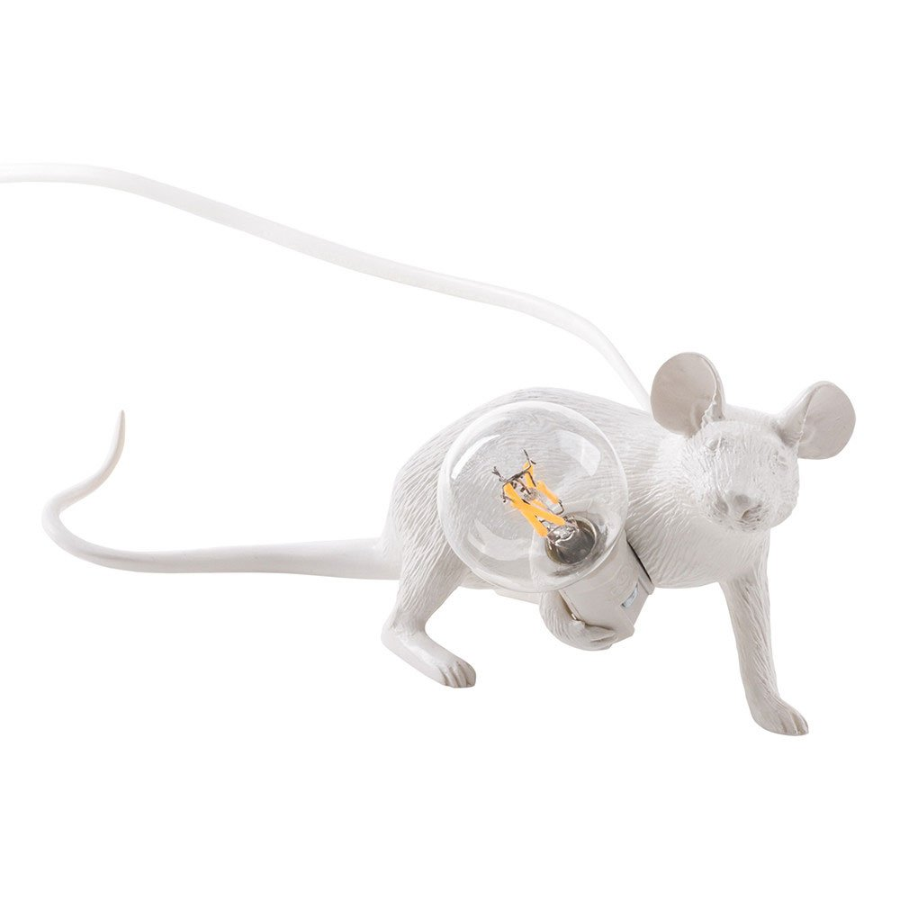 Seletti Mouse Lie Down Table Light White