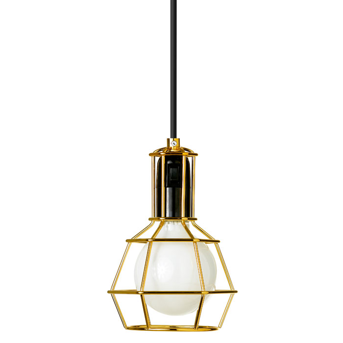 Design House Stockholm - Work Lamp - Gold