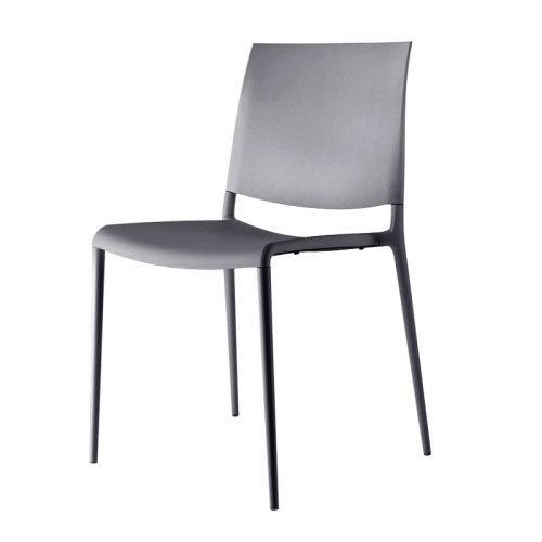 Rexite - Alexa Stackable Chair 2520 - Set of 2 - Grey