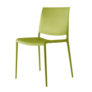 Rexite - Alexa Stackable Chair 2520 - Set of 2 - Olive Green