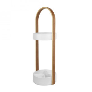 Umbra - Hub Umbrella Stand White Natural