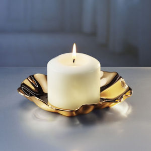 Rosendahl - Gold Plated Candle Holder