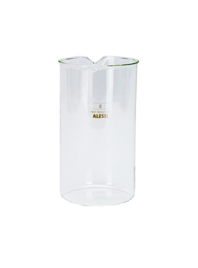 Alessi - Replacement Glass Press Filter Coffee 8 Cup
