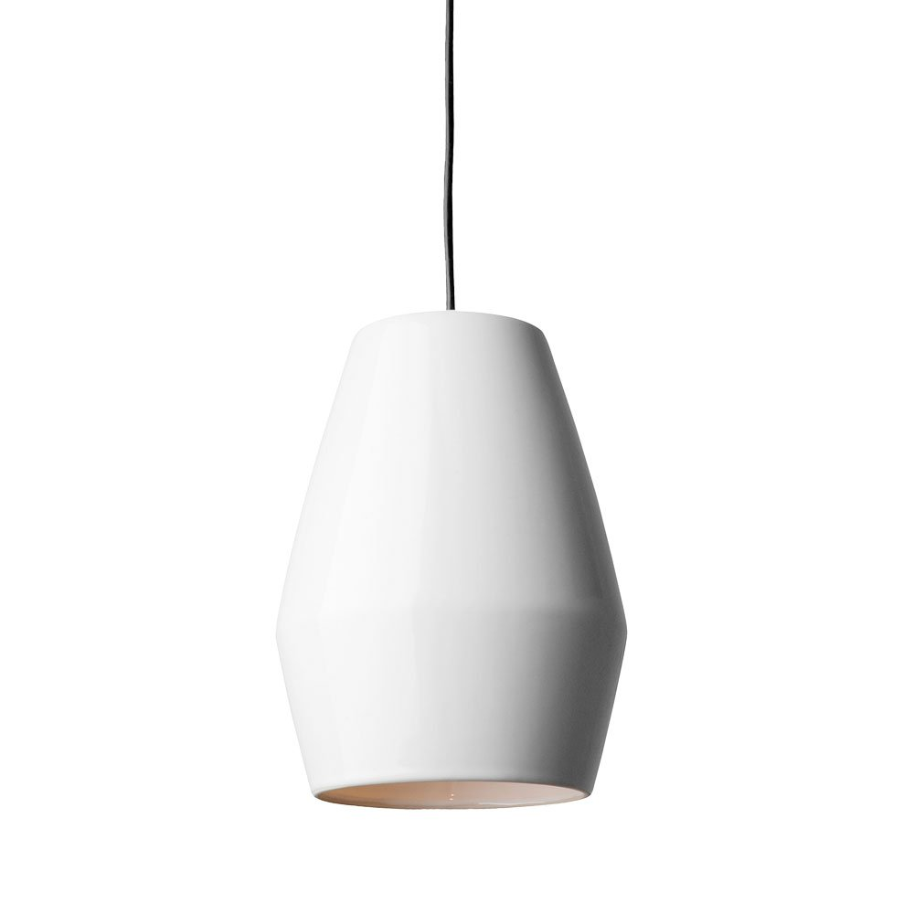 Northern Lighting   Bell Suspension Light   White Photo