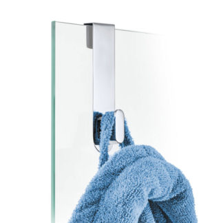 Blomus Areo Hook for Glass Shower Panel Polished