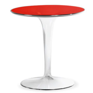 Kartell - Tip Top Side Table - Red