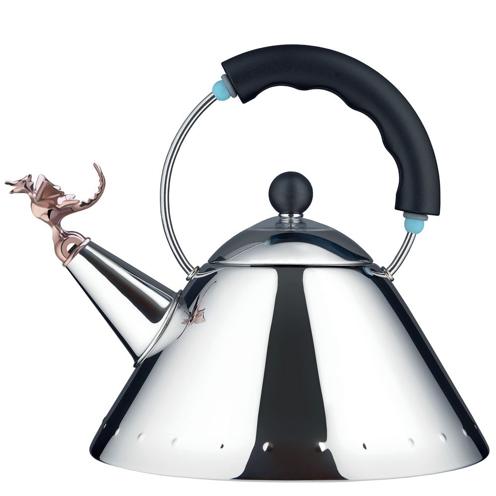 Alessi - Michael Graves - Kettle with Copper Tea Rex