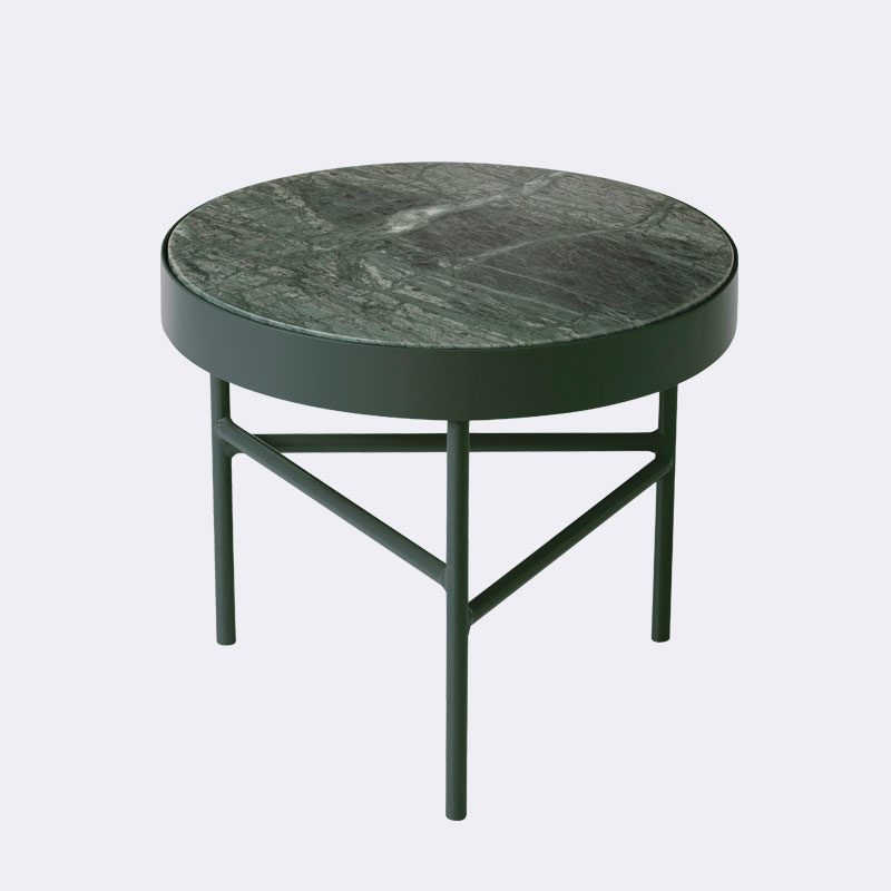 Ferm Living   Marble Table Green Small