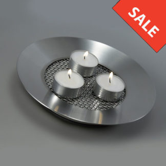 Tommy Larsen Round Candle Mesh Platter