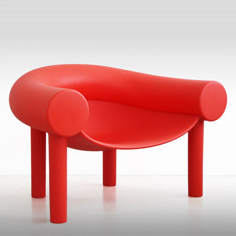 Magis - Sam Son Low Chair Red