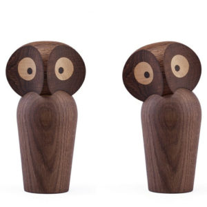 ArchitectMade - Paul Anker - Danish Owl Smoked Oak Small 1960