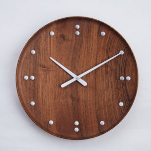 ArchitectMade - Finn Juhl - FJ Clock Teak Wood 1950