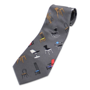 ACME Studio - Adrian Olabuenaga - Chairs Grey Silk Tie