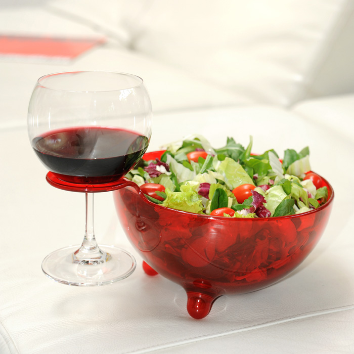 A di Alessi MooM Bowl Red