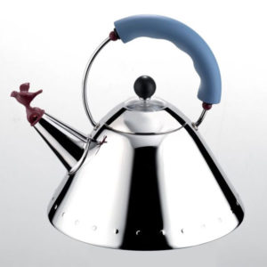 Alessi - Michael Graves - Blue Hob Kettle