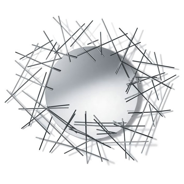 """Alessi - """"Blow Up"""" Wall Mirror"""