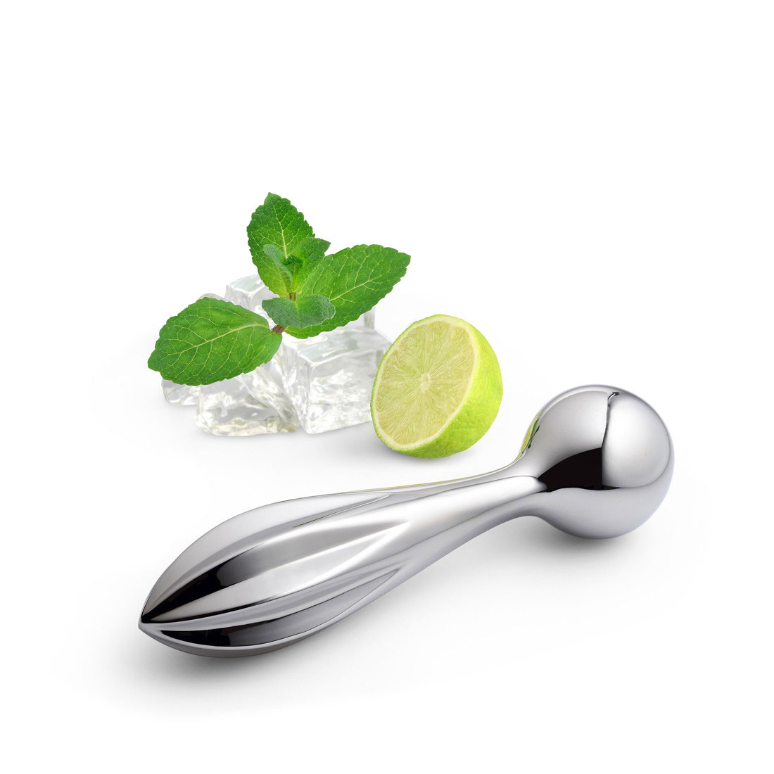 Alessi Valerio Citrus Squeezer and Pestle