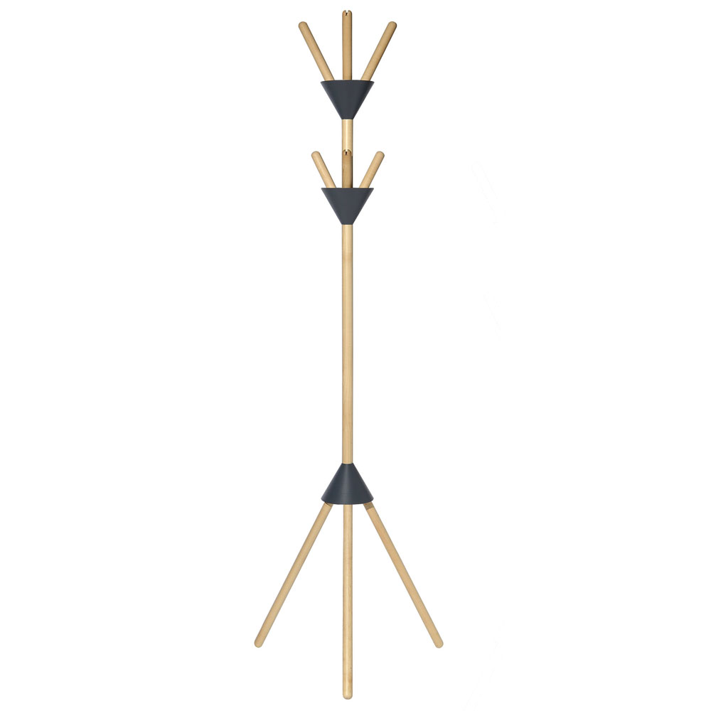 Alessi - Pierrot Coat Stand Dark Grey