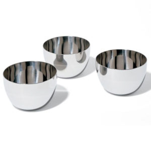Alessi - Mami 3 Bowl Set Stainless Steel