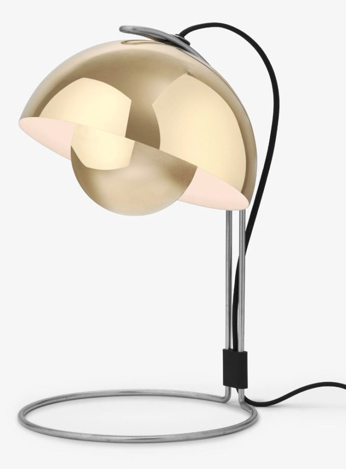 &Tradition - FlowerPot VP4 Table Lamp Polished Brass
