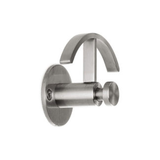 &Tradition - Hangover Brushed Stainless Steel Hook