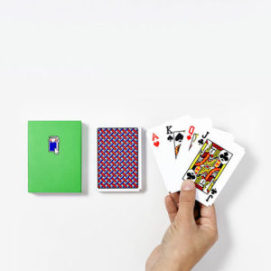 Areaware - Susan Kare - Solitaire Playing Cards 2 Sets