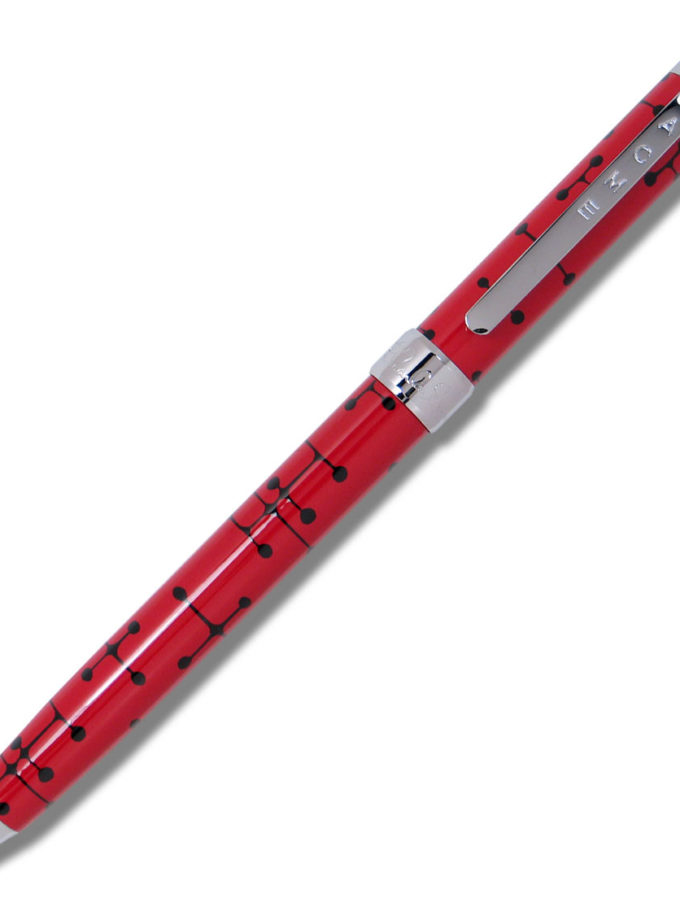 ACME Studio - Charles and Ray Eames - Dots Red Retractable Pen
