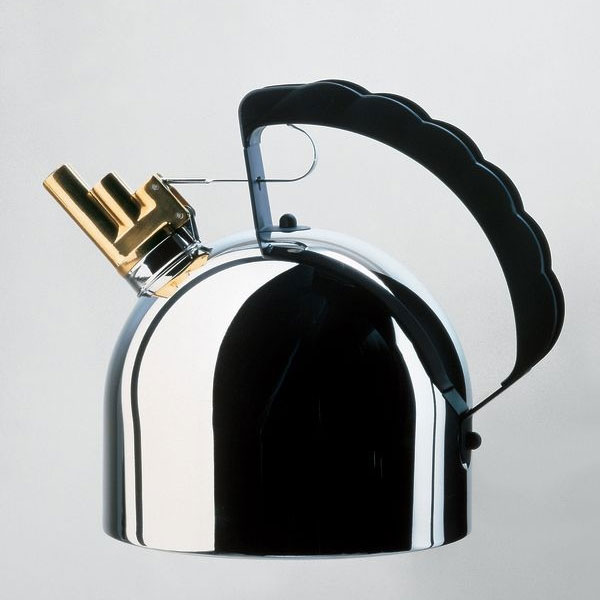 Alessi - Richard Sapper - 200CL Kettle Copper Bottom