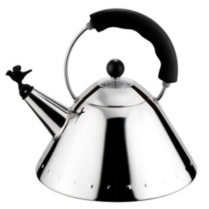 Alessi - Michael Graves - Hob Kettle Black