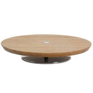 Alessi - Ape Cheese Board in Wood with Stand