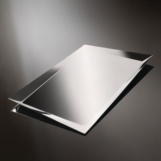 Alessi - Odile Decq - Alice Tray Stainless Steel Mirror Polished