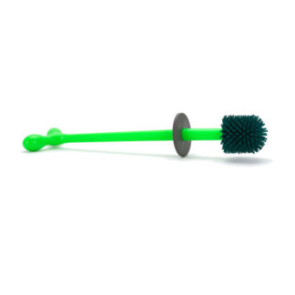 A di Alessi - Replacement Brush with Handle for Merdolino Toilet Brush