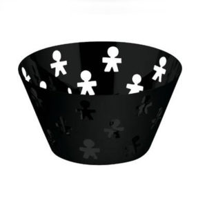A di Alessi - Black Girotondo Fruit Holder