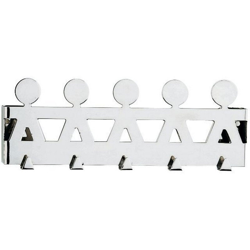 "Alessi - King Kong - ""Girotondo"" Wall Hook Rack"