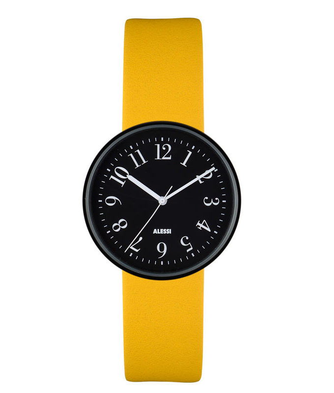 Alessi - Record Watch - AL6100 Supplied with Two Straps