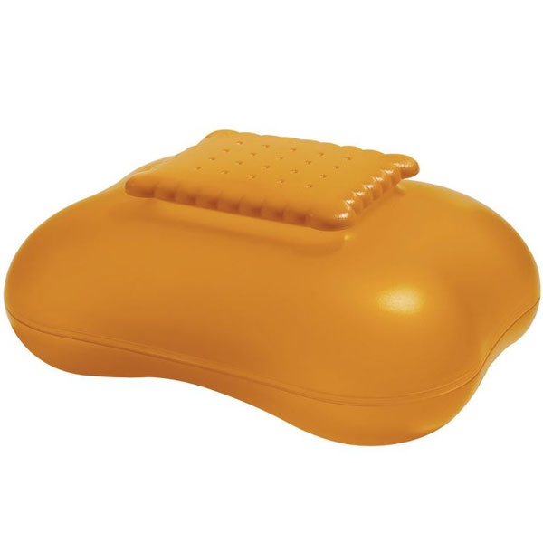 "Alessi - ""Mary Biscuit"" Biscuit Box Orange"