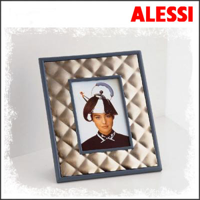 Alessi Photo Frame Graves Blue Michael Graves