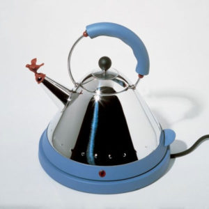 Alessi - Michael Graves - Electric Kettle Blue