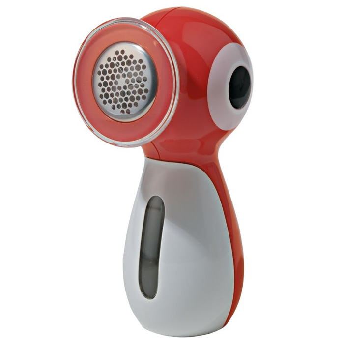 Alessi Piripicchio Clothes Shaver Red