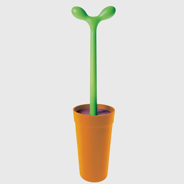 Alessi Toilet Brush Merdolino Orange