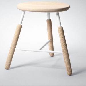 &Tradition - Raft Low Stool Oak