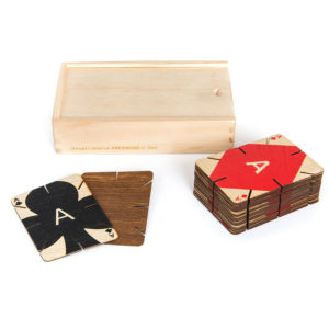 Areaware - Plywood Playing Cards